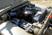 Engine of world war two vehicle — Stock Photo