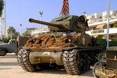 World war two tanks sherman — Stock Photo