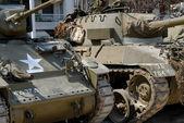 World war two tanks — Stock Photo