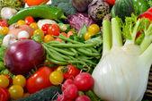 Zelenina trh — Stock fotografie