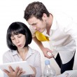 Man and woman at office — Stock Photo #44508751