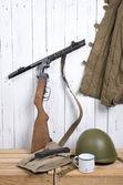 Soviet equipment of World War Two — Stock Photo