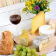 ������, ������: French cheese tray