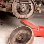 Drum brake removed — Stock Photo #50972493