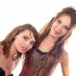 Two young women dressed in a corset — Stock Photo #51592975