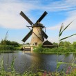 Kinderdijk windmill — Stock Photo
