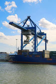 Cargo Port of Rotterdam 013 — 图库照片