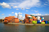 Cargo Port of Rotterdam 004 — Stock Photo