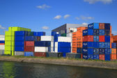 Cargo Port of Rotterdam 003 — Stockfoto