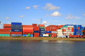 Cargo Port of Rotterdam 002 — 图库照片