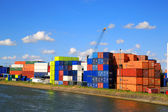 Cargo Port of Rotterdam 001 — Stock Photo