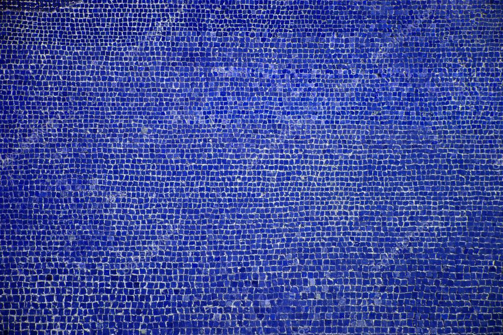 Trama di sfondo di mosaici romani blu — foto stock © designf21 ...