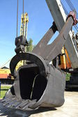 Excavator bucket — Stock Photo