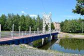 Ponte nella città di almetyevsk — Foto Stock