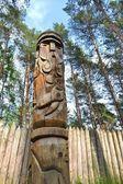 Pagan grandfather of the gods Svjatovit — Stock Photo