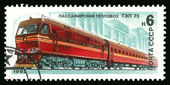 Tep locomotora diesel de pasajeros 75 — Foto de Stock