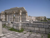 The Great Basilica At The Ancient Bulgarian Capital Pliska — Stock Photo