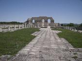 The Great Basilica At The Ancient Bulgarian Capital Pliska — Stockfoto