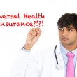 Stock Photo: Universal health insurance