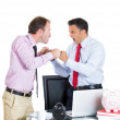 Boss having an argument with his employee — Stok fotoğraf