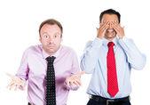 Two businessmen — Stock Photo