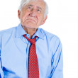 Elderly man very sad and depressed — Stock Photo #31268895
