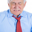 Elderly man very sad and depressed — Stock Photo #31269001