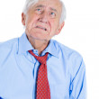 Elderly man very sad and depressed — Stock Photo #31269031