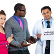 Stock Photo: Patients can't pay for medical treatment