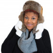 Womwearing winter gear — Stock Photo #38581807