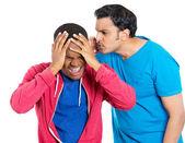 Två arga galna män — Stockfoto