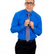 Nerdy man with glasses — Stock Photo #39014507