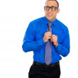 Nerdy man with glasses — Stock Photo #39017537