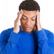 Mhaving bad headache — Stock Photo #39330669