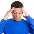 Mhaving bad headache — Stock Photo #39330711