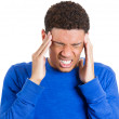 Mhaving bad headache — Stock Photo #39330727