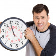 Man holding clock — Stock Photo #39731999