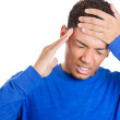 Mwith headache — Stock Photo #39732389