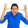 Angry woman — Stock Photo #39732937