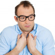 Nerdy man — Stock Photo #39990621