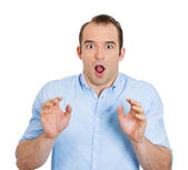 Surprised man — Stock Photo