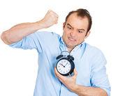 Jefe exigente, plazo — Foto de Stock