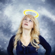 Daydreaming angel — Stock Photo #43513599