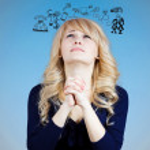 Praying woman — Stock Photo #43517345
