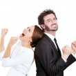 Excited couple — Stock Photo #43524967
