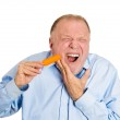 Man with sensitive tooth ache problem — Stock Photo #43713327