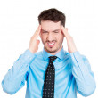 Man with headache — Stock Photo #43716295