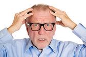 Confused mature man — Stock Photo