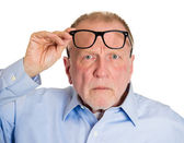 Surprised mature man — Stock Photo