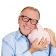 Savings in old age — Stock Photo #44459991